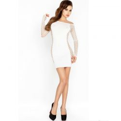 Rochie mini Chemise Queen Rochita Passion BS025 Alba