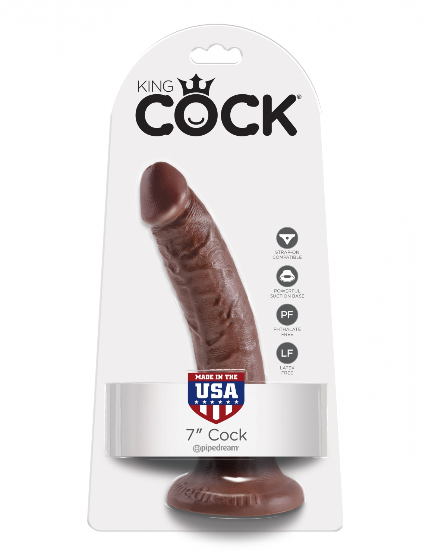 Dildo maro realistic King Cock 17.8 cm