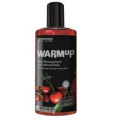 Ulei intim afrodisiac Kisses zmeura 100ml Ulei de masaj cu efect de incalzire cirese 150 ml