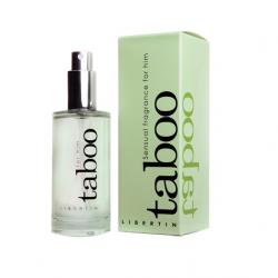 Betisoare parfumate cu feromoni Fructul Pasiunii Parfum afrodisiac pentru barbati Taboo 50ml