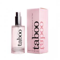 Betisoare parfumate cu feromoni Fructul Pasiunii Parfum afrodisiac pentru femei Taboo 50ml