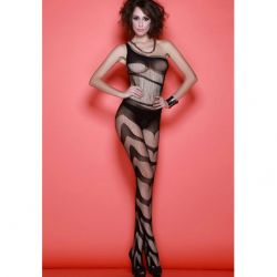 Catsuit Bodystocking Queen Catsuit cu Design Unic Queen