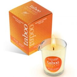 Ulei de masaj afrodisiac, menta, trandafiri si portocale 150ml Candela Taboo Ulei masaj