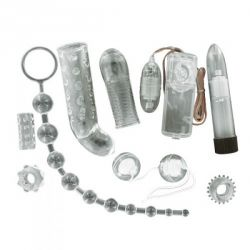 Vibrator Neon Luv Touch Roz Kit de placere Crystal Diamond