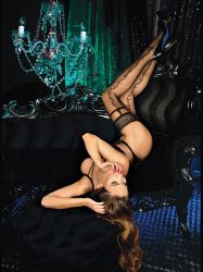 Colanti sexy Fishnet Dres Ballerina 444