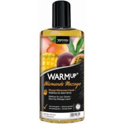 Ulei intim afrodisiac Kisses zmeura 100ml Ulei de masaj cu efect de incalzire Mango 150 ml