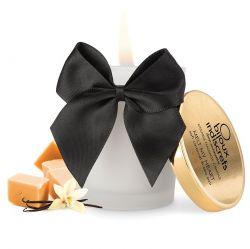 Ulei afrodisiac Shunga cu aroma vanilie 100ml Candela Masaj Bijoux aroma de caramel si vanilie