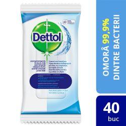 Irigator anal Showerplay Servetele dezinfectante Dettol 40 buc