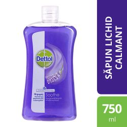 Kit initiere sex anal FIfty Shades of Grey Rezerva sapun lichid Dettol Soothe, 750 ml