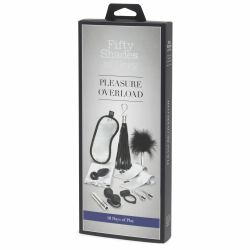 Kit 10 zile de placere Fifty Shades of Grey