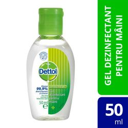 Irigator Clean Stream din silicon 225ml Gel Dezinfectant Dettol pentru maini, 50 ml