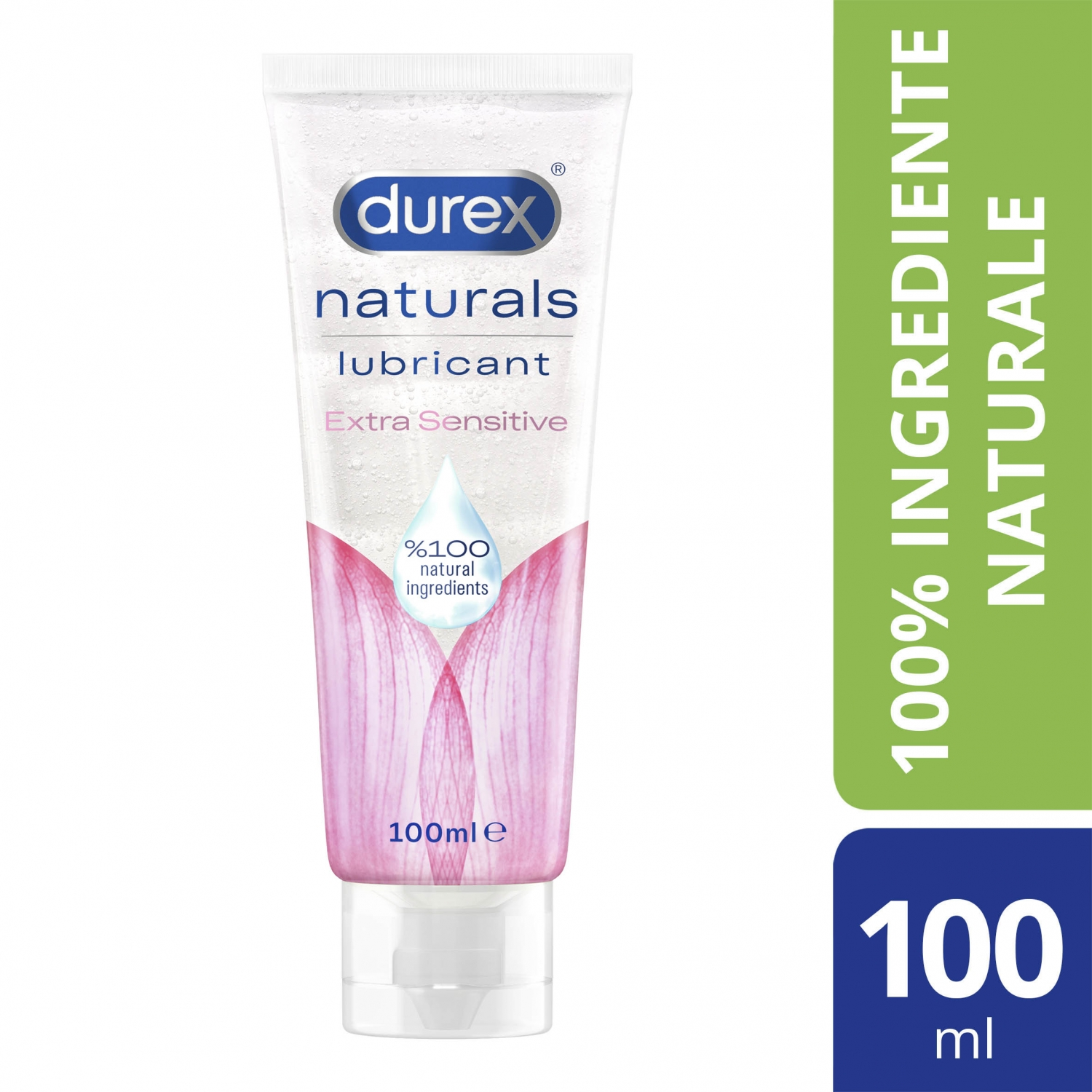 Lubrifiant Durex Naturals Extra Sensitive, 100 ml