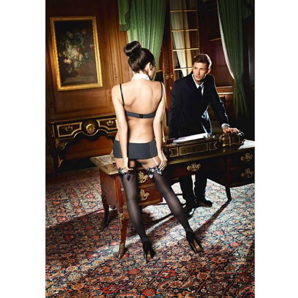 Ciorapi sexy de secretara