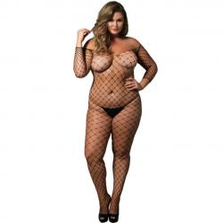 Catsuit plasa Leg Avenue Plus Size
