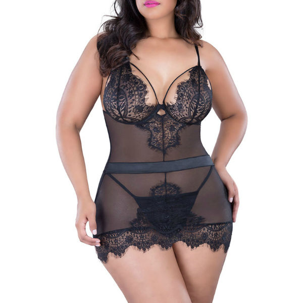 Babydoll Luxury Queen Plus Size