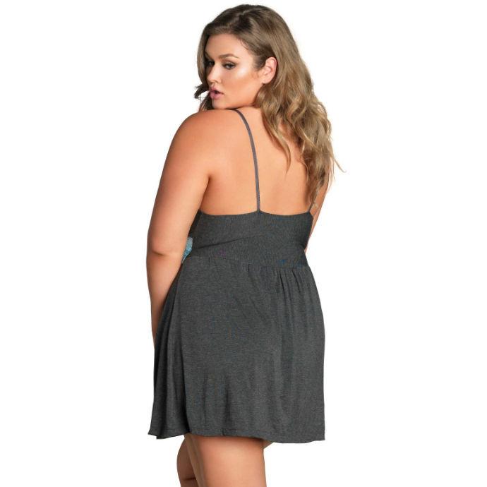 Babydoll Leg Avenue Jersey Plus Size