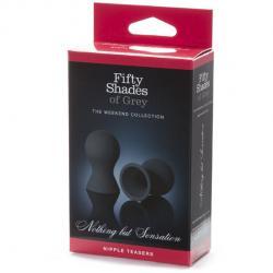 Ventuze negre pentru sfarcuri Fifty Shades of Grey