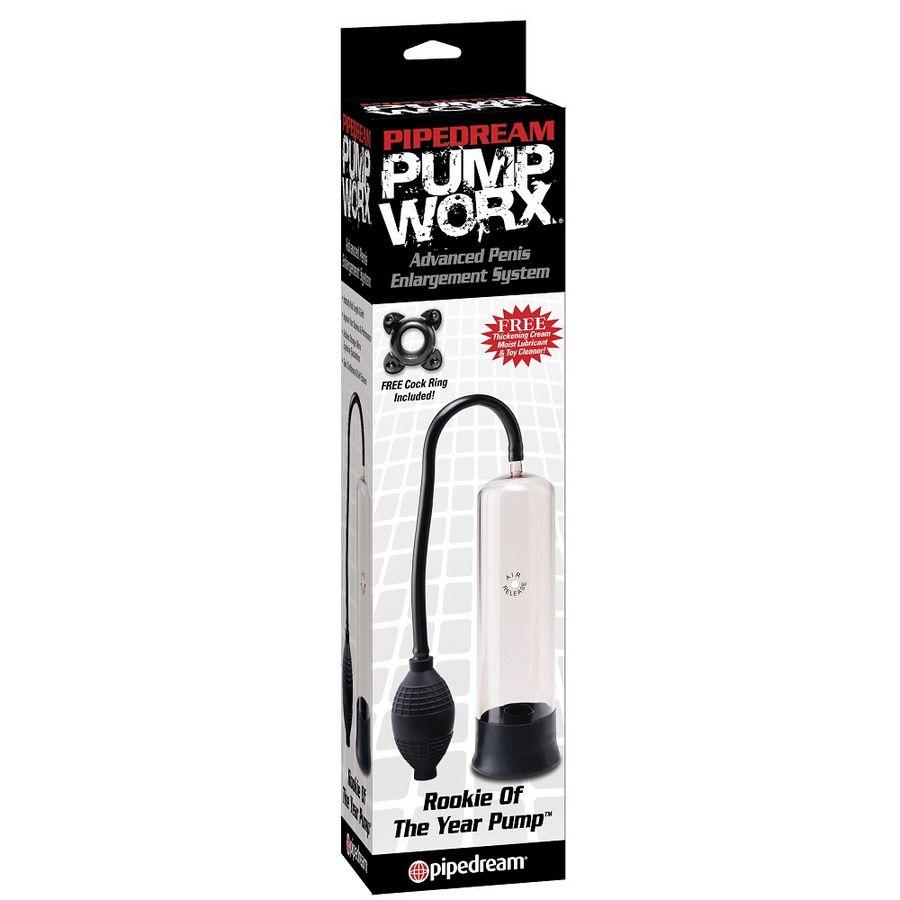 Pompa Rookie pentru marirea penisului Pump Worx