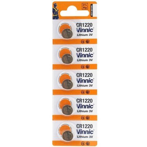 Set 5 baterii CR1220 3V Alkaline