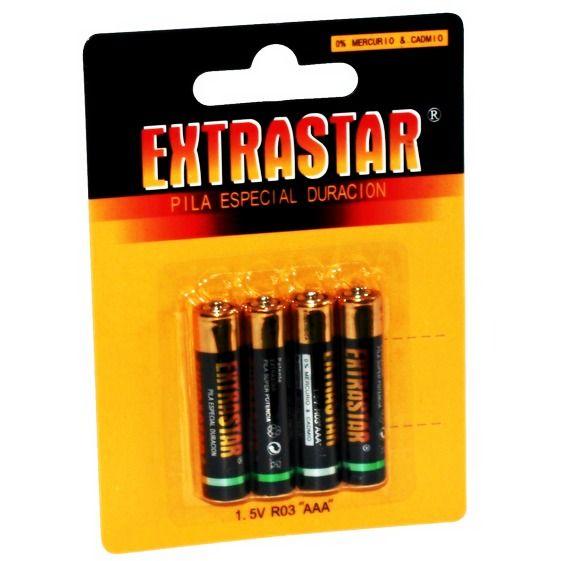 Set 4 baterii L03/AAA R3 1.5V Alkaline