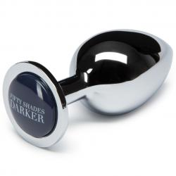 Plug anal Basix Transparent Plug Fifty Shades Darker