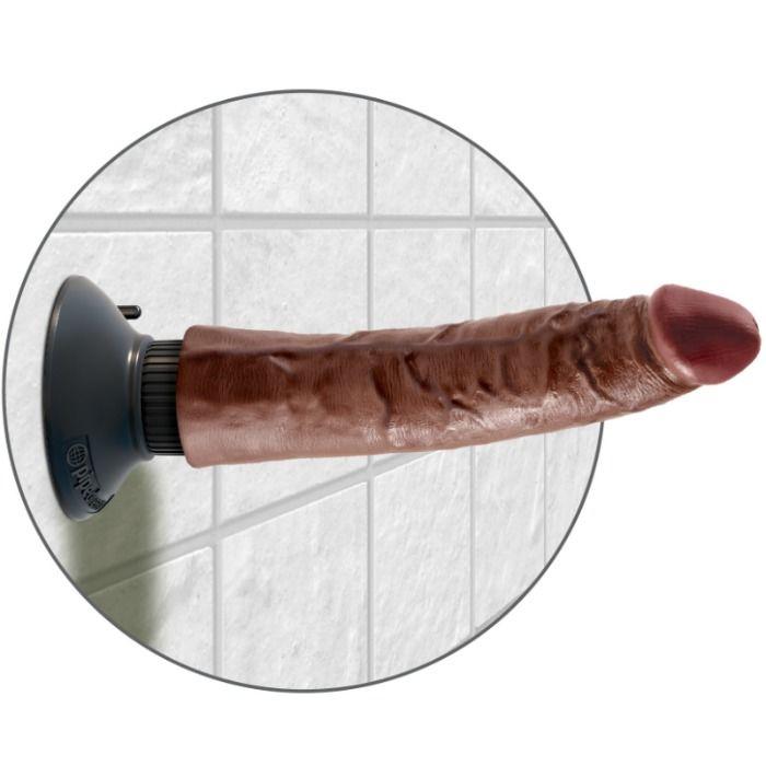 Vibrator King Cook 17.78 cm Maro