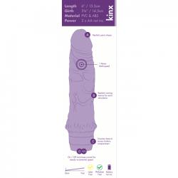 Vibrator Jelly Flesh 14.5 cm