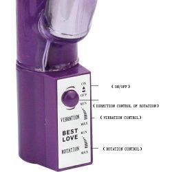Vibrator iepure violet