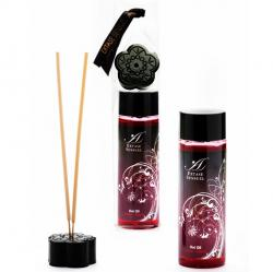 Ulei intim afrodisiac Kisses Vanilla 100ml Ulei stimulant Cherry Cereza 100ml