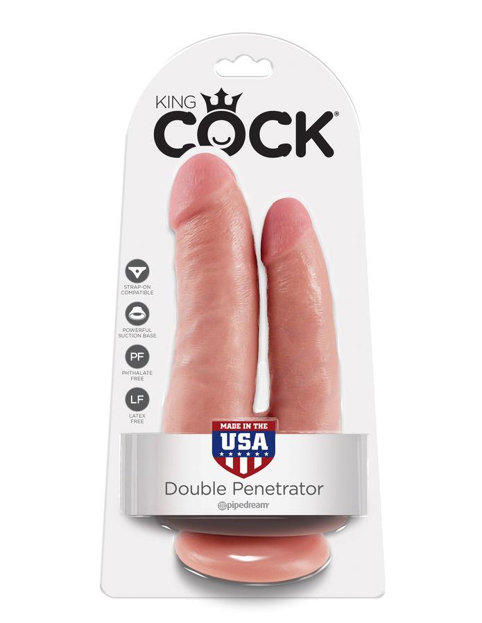 Dildo realistic king Cock Dublu