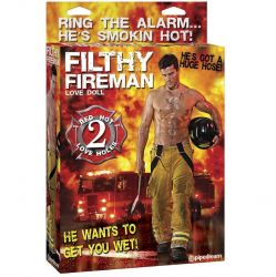 Papusi Gonflabile Papusa gonflabila Filthy Fireman