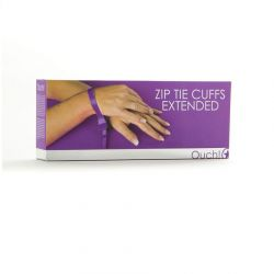 Catuse Mansete Zip Tie Violet