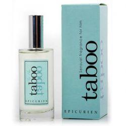 Betisoare parfumate cu feromoni Fructul Pasiunii Parfum Taboo afrodisiac pentru barbati 50ml