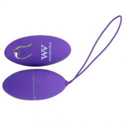Ou vibrator Eilium Ou cu telecomanda Womanvibe Mov