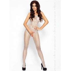 Queen Catsuit Alb BS010 Passion