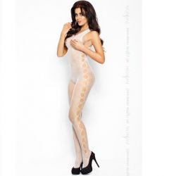 Catsuit Alb BS003 Passion