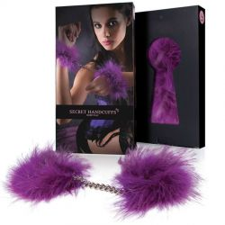 Catuse LELO Sutra Chainlink rosii Catuse pufoase Marabou Mov