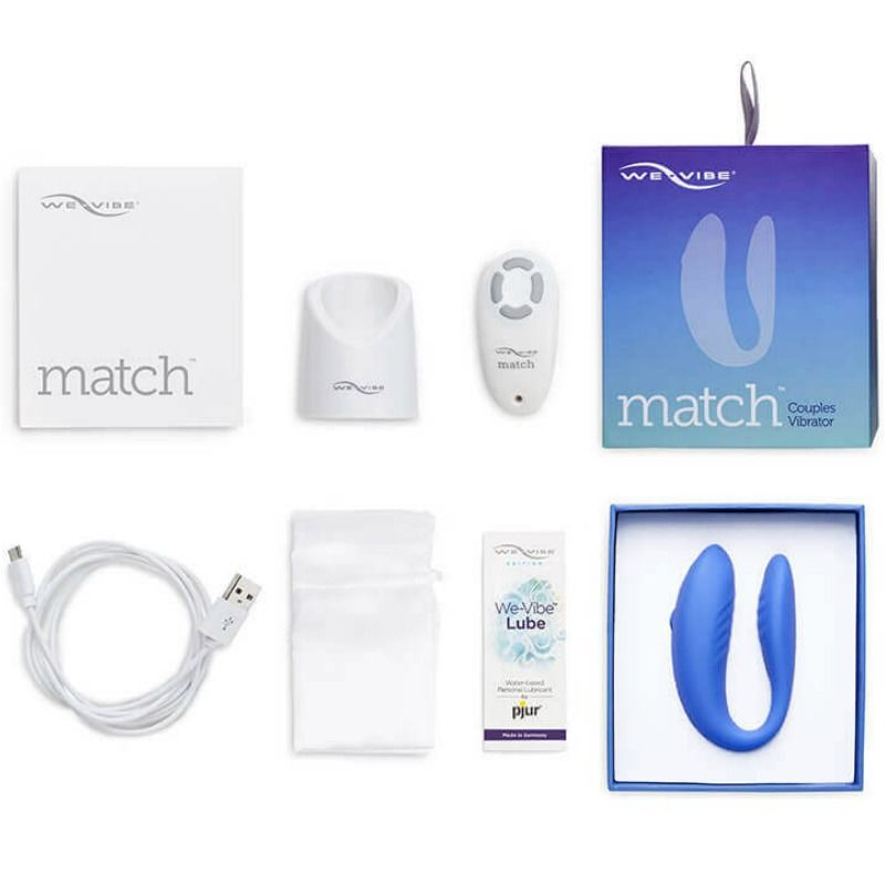 Vibrator We Vibe Match albastru